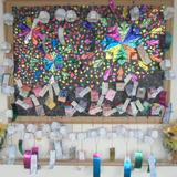 壁飾り(8月・花火大会)