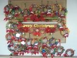 壁飾り(12月・クリスマスリース)