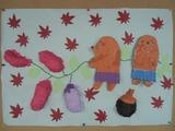 壁飾り(10月)
