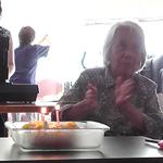 誕生日会&長寿弁当を食べました♪2018年9月